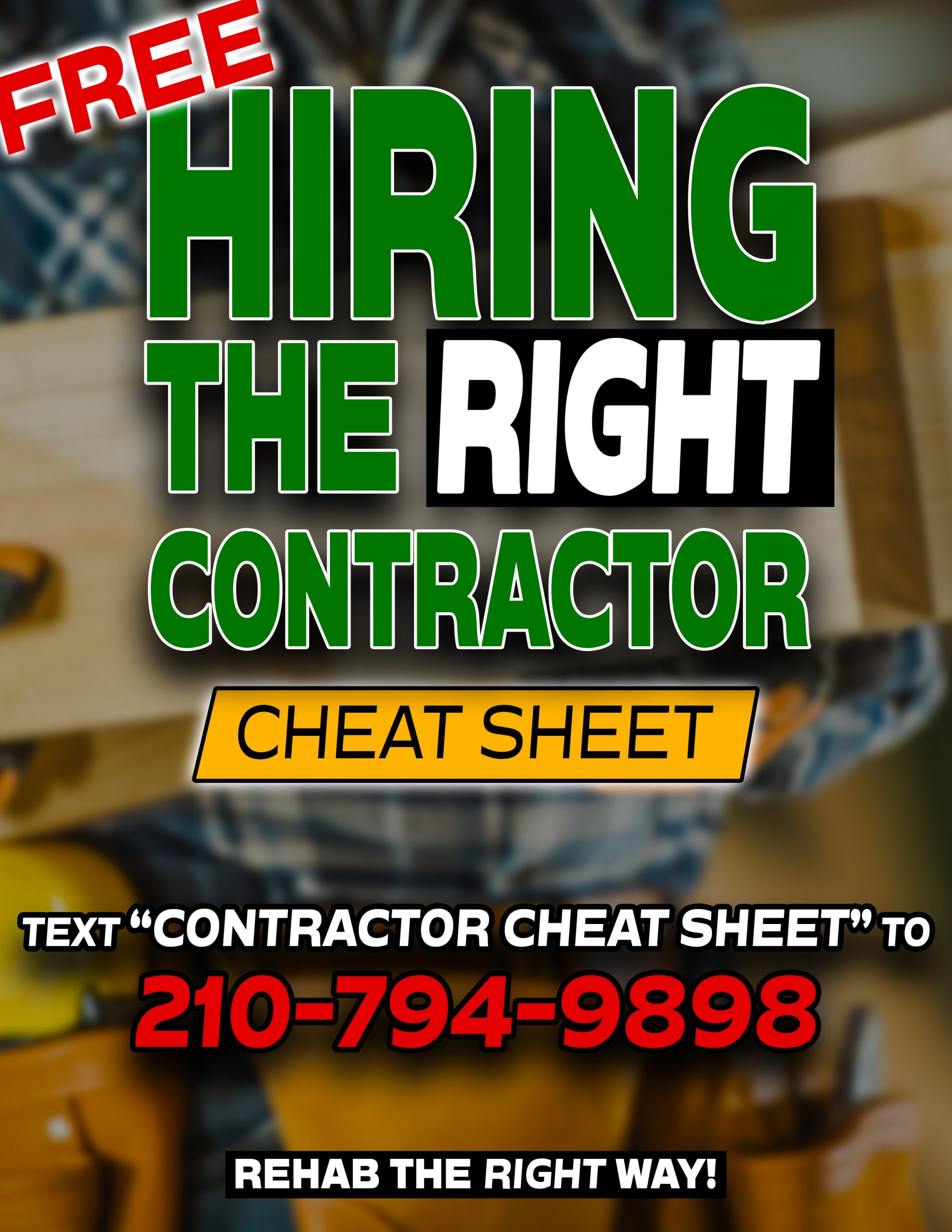 Contractor Cheat Sheet